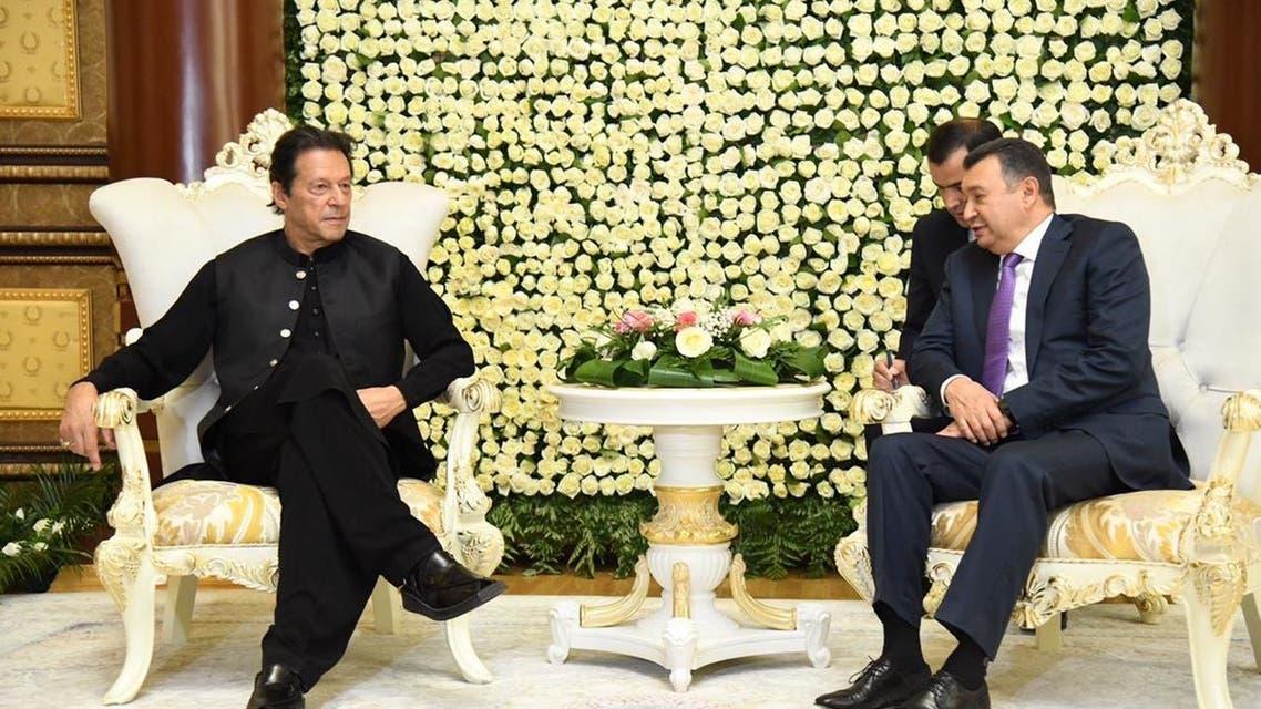 Pakistan Prime Minister Imran Khan arrived tajikistan