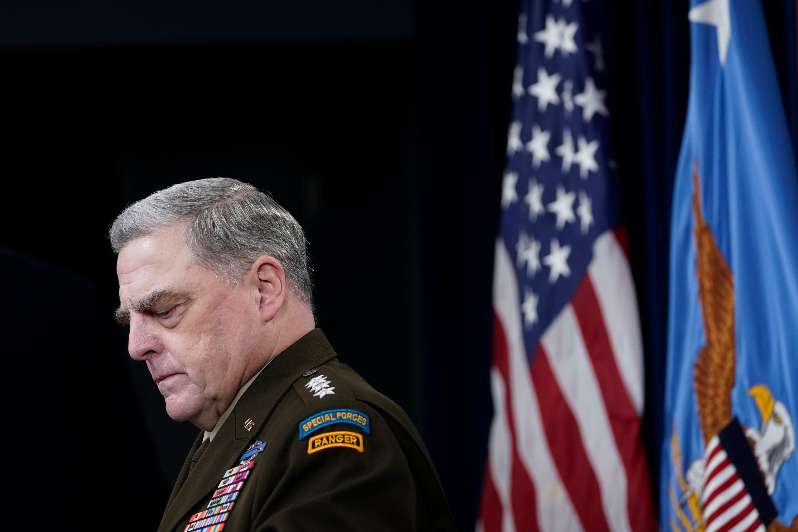 مارک میلی، رئیس ستاد مشترک ارتش آمریکا