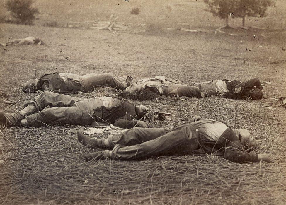 عدد من الأشخاص الذين قتلوا بالحرب الأهلية