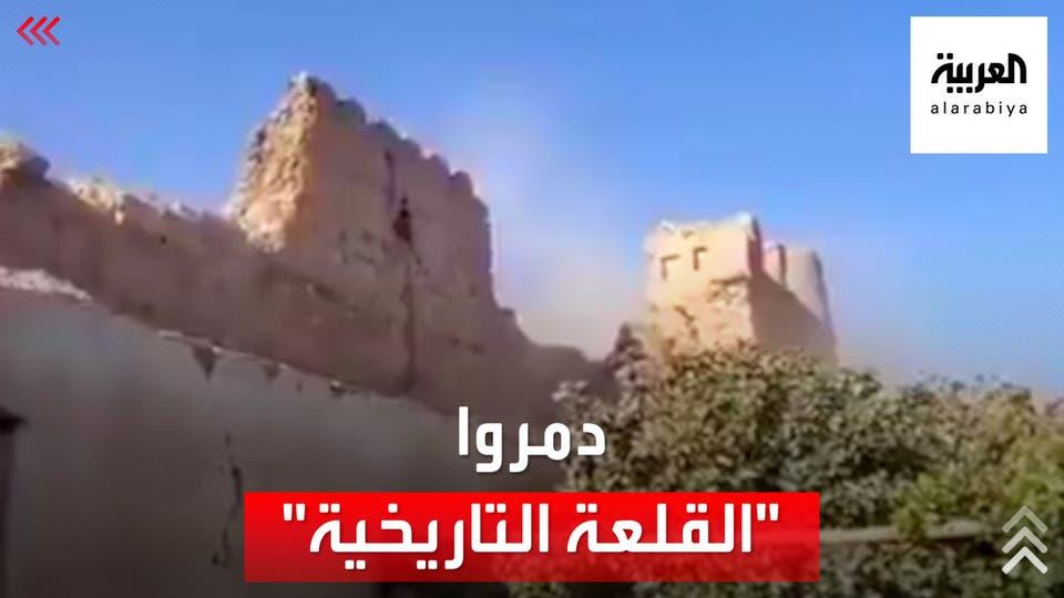 بعد ضريح أحمد شاه مسعود.. طالبان تدمر قلعة تاريخية في هلمند