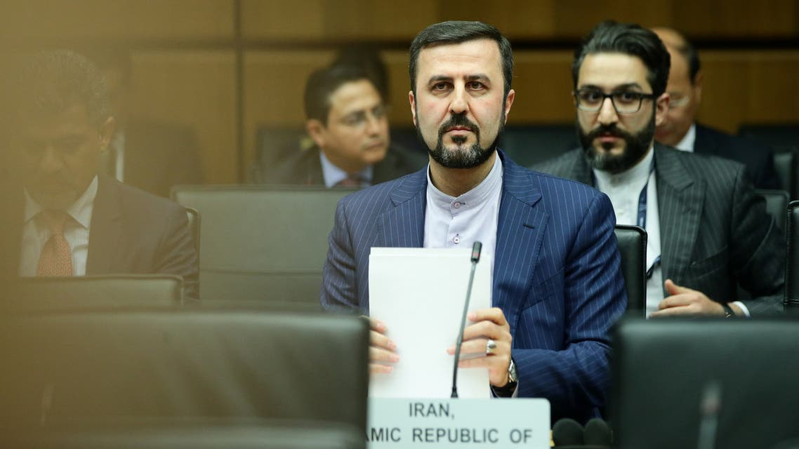 كاظم غريب ابادي سفير إيران لدى الوكالة الدولية للطاقة الذرية (أرشيفية- رويترز)