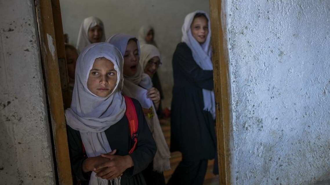 طالبات في كابل (أرشيفية- فرانس برس)