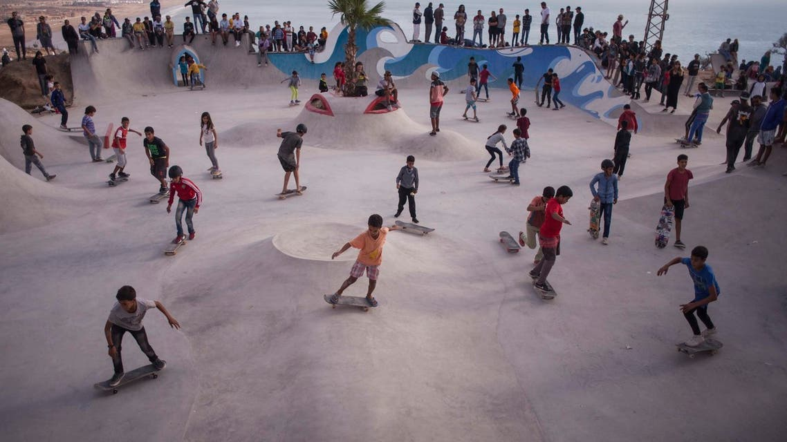 NGO Make Life Skate Life has opened Lebanon's first public skatepark at Beirut's Horsh park. (Image: Maghie Ghali)
