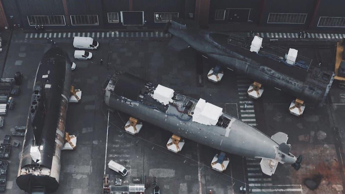 غواصة نووية فرنسية (أرشيفية- فرانس برس)