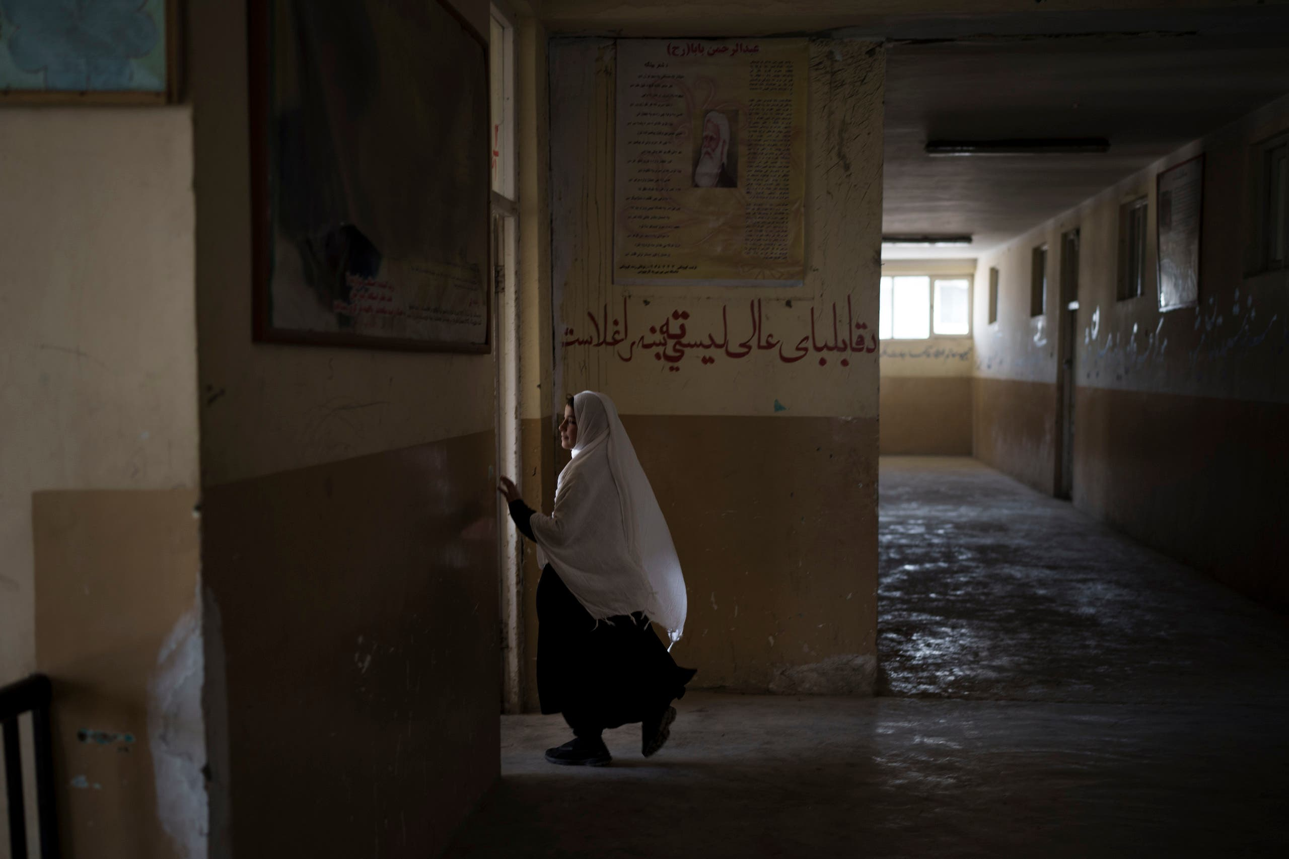 A shy return for girls in some schools in Afghanistan, with the exception of Kabul