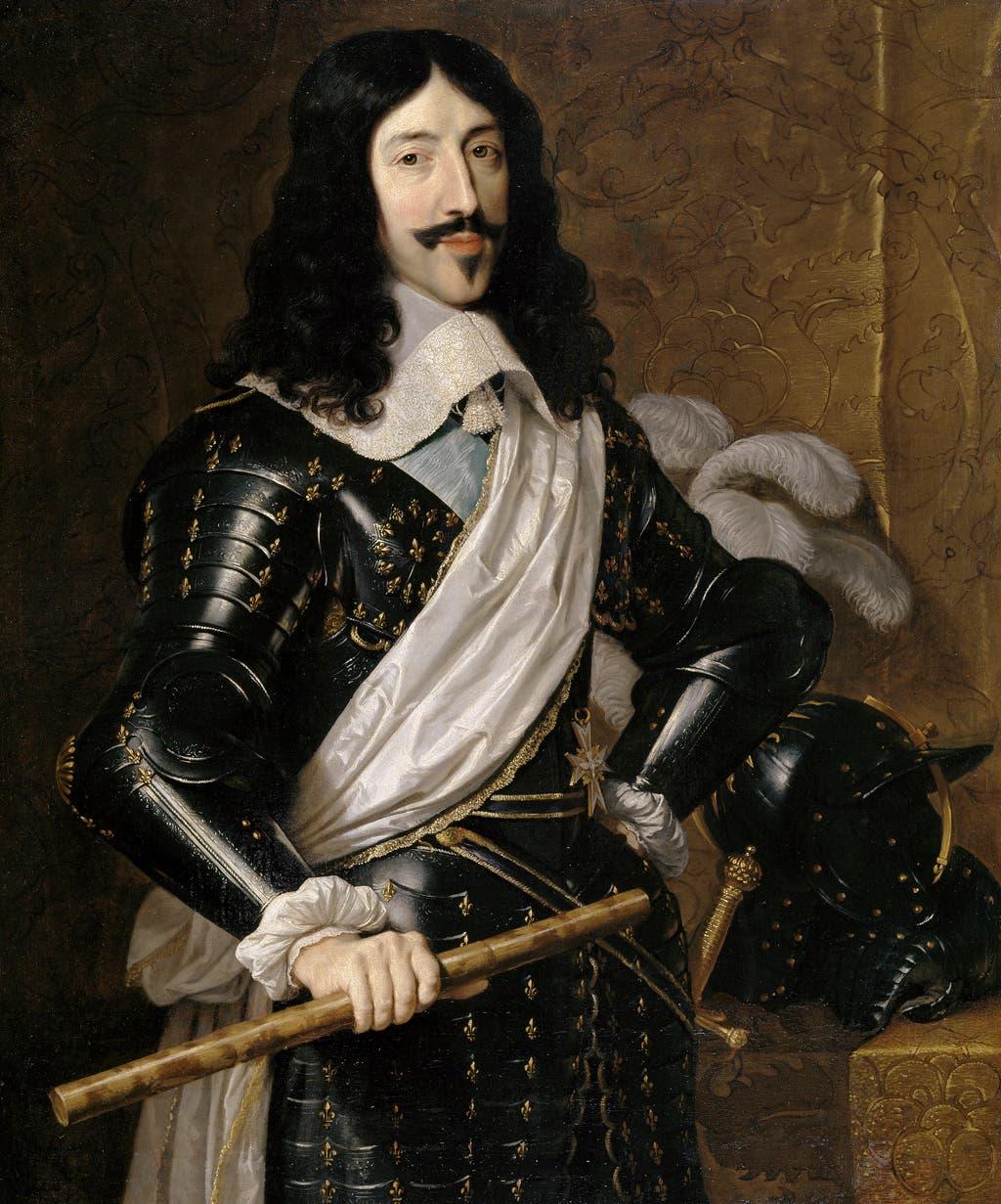 لوحة تجسد لويس الثالث عشر