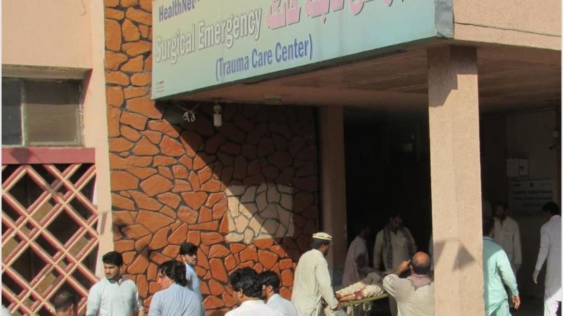 مجروحان انفجار در افغانستان