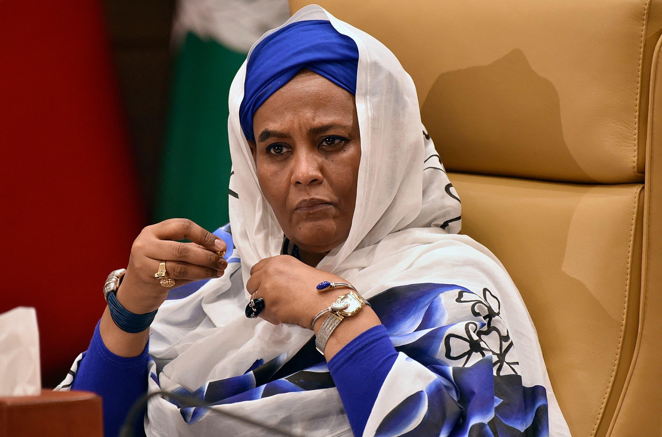 وزيرة الخارجية السودانية مريم الصادق المهدي (أرشيفية- فرانس برس)