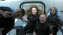 SpaceX capsule with world's first all-civilian crew set for splashdown in Atlantic