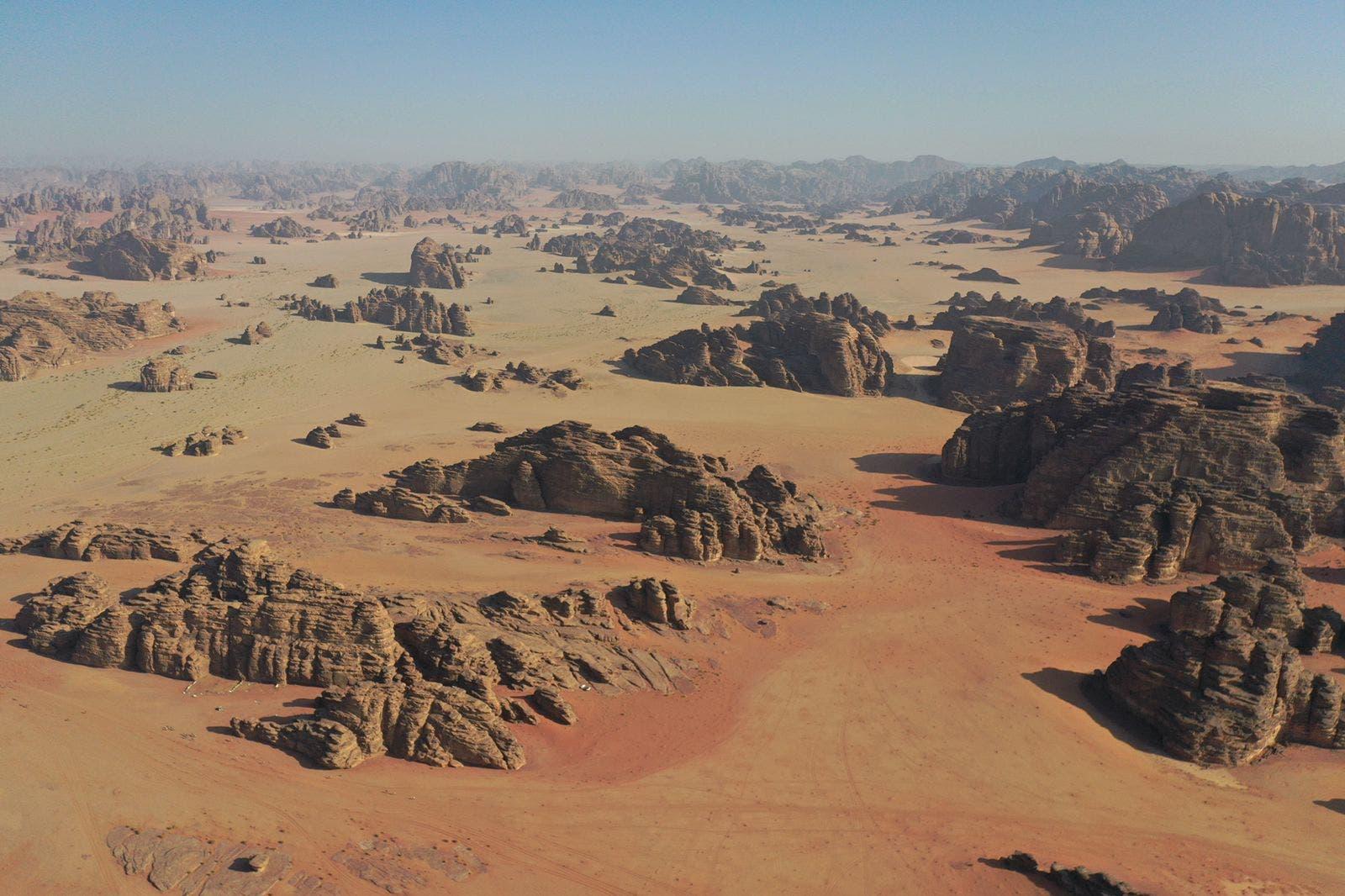 تكوينات جبال بجده