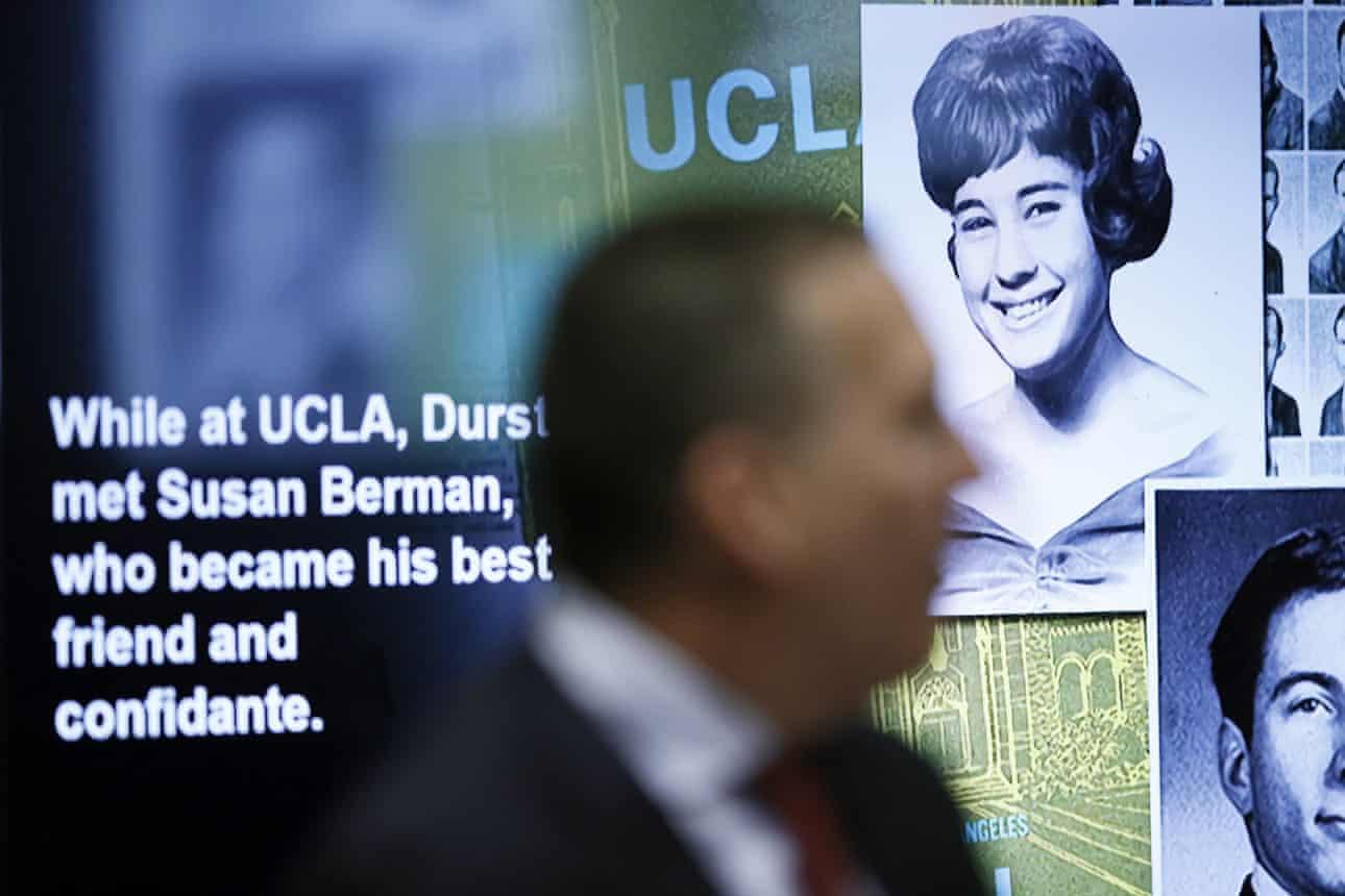 Robert Durst was found guilty of the first-degree murder of Susan Berman. (AP)