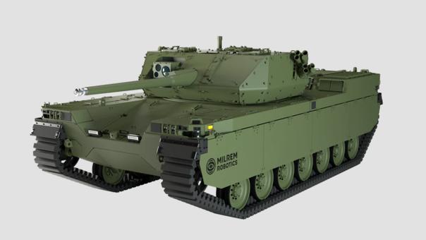 دبابة روبوتية بمواصفات ذكية لجيوش أوروبا وأميركا