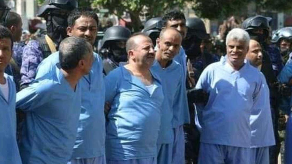 المتهمون بالاعدام في صنعاء