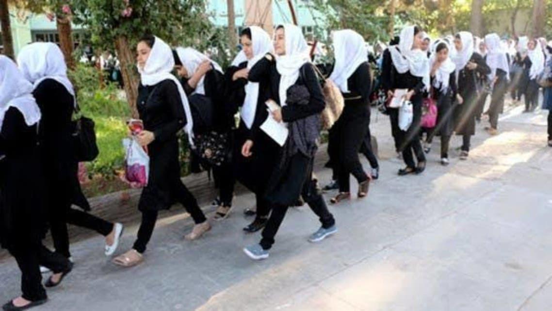 دانش آموزان دختر افغانستانی