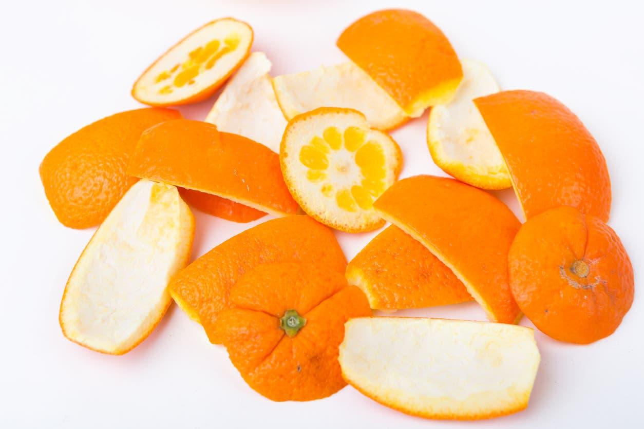 قشور البرتقال