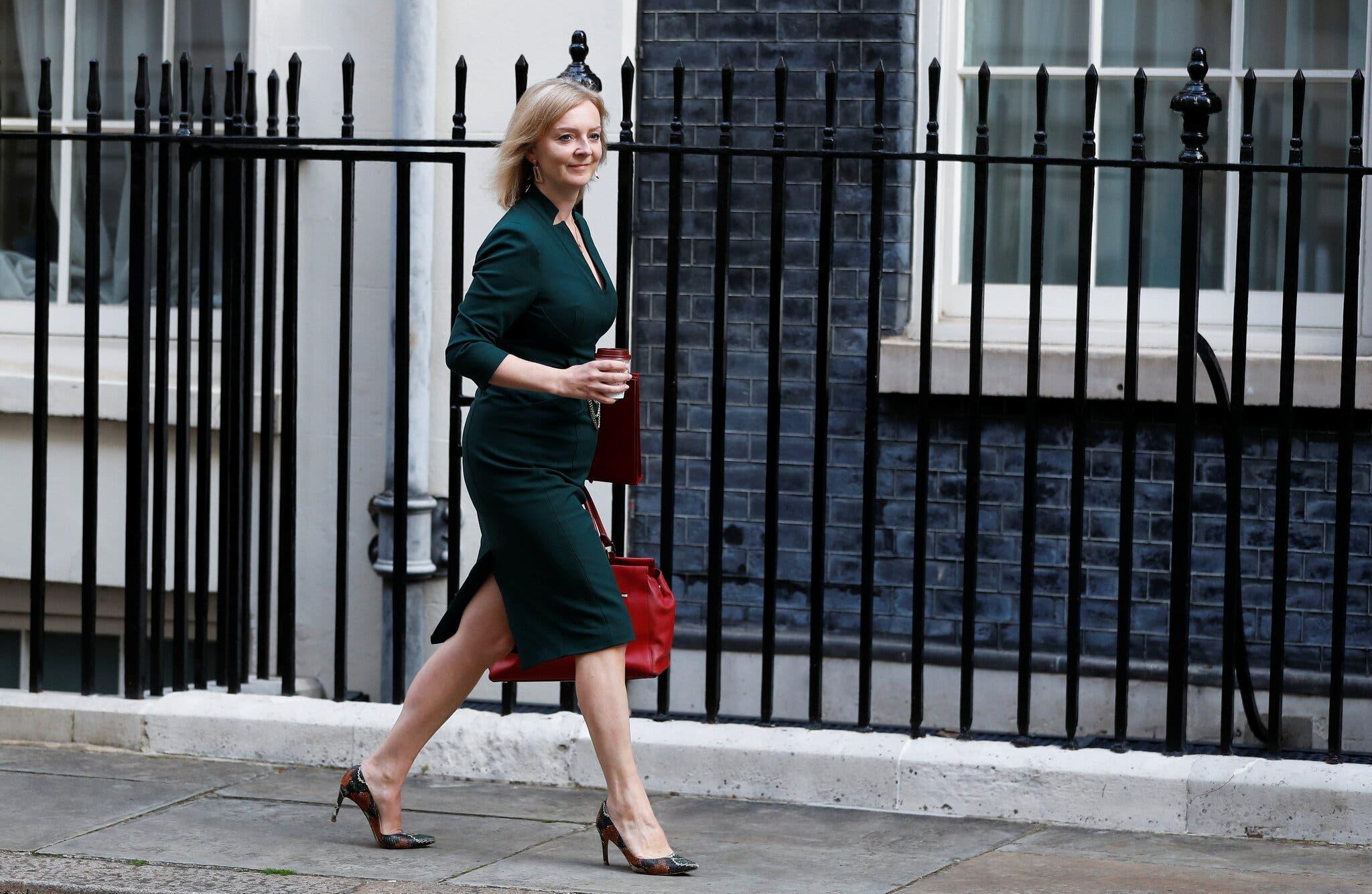 ليز تروس وزيرة للخارجية في المملكة المتحدة لعبت دورا في تنفيذ الاتفاقية