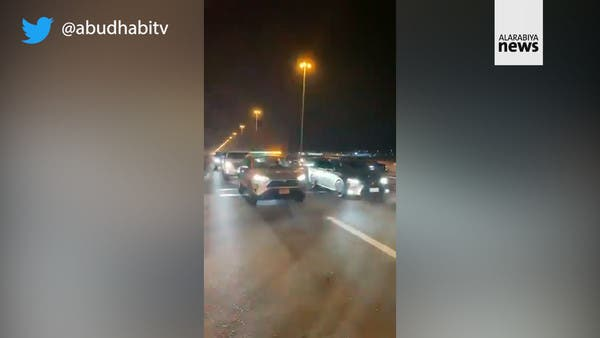 Watch: First cars enter Abu Dhabi from Dubai without need for COVID-19 entry tests