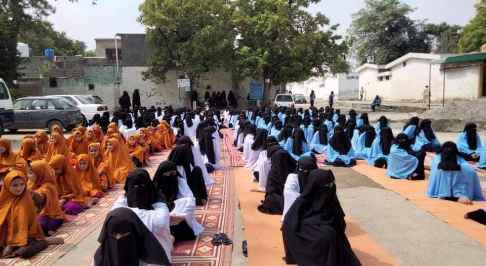 جامعہ حفصہ کی طالبات