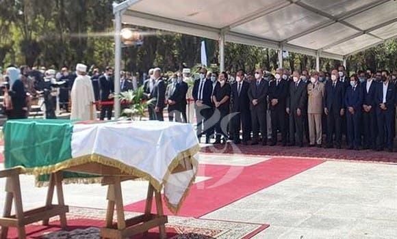 جثمان الرئيس الجزائري السابق عبد العزيز بوتفليقة