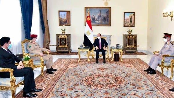 السيسي: موقف مصر ثابت بدعم جهود التوصل لحل سياسي شامل لأزمة اليمن
