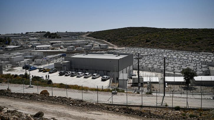 Fire at migrant camp on Greek island of Samos