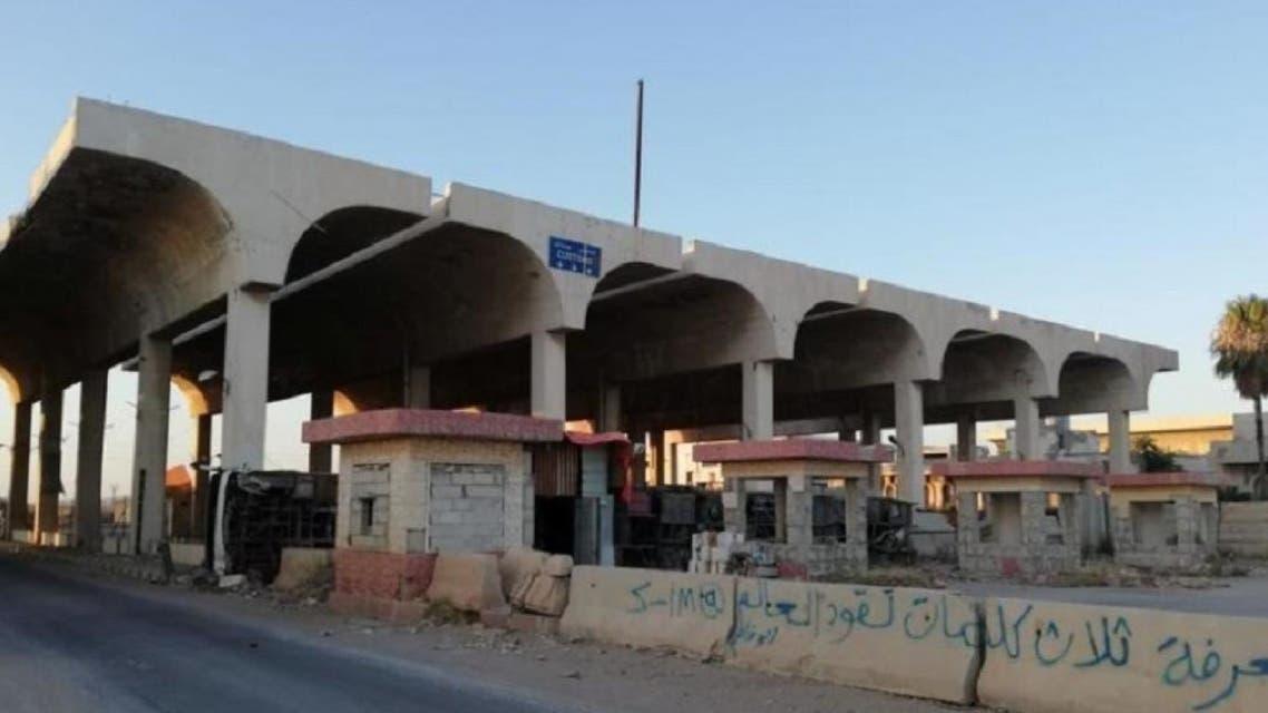Nassib border crossing between Syria and Jordan