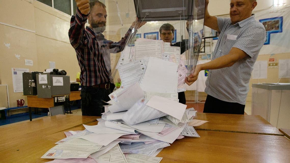 انتخابات پارلمانی روسیه عکس از رویترز