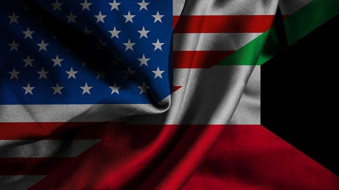 Waving flag of Kuwait and US. (Renato Arap via iStock)