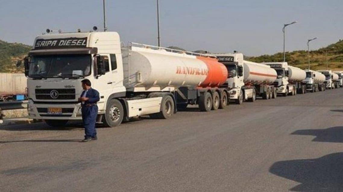وصول دفعة محروقات جديدة من العراق لفصائل موالية لإيران غرب الفرات