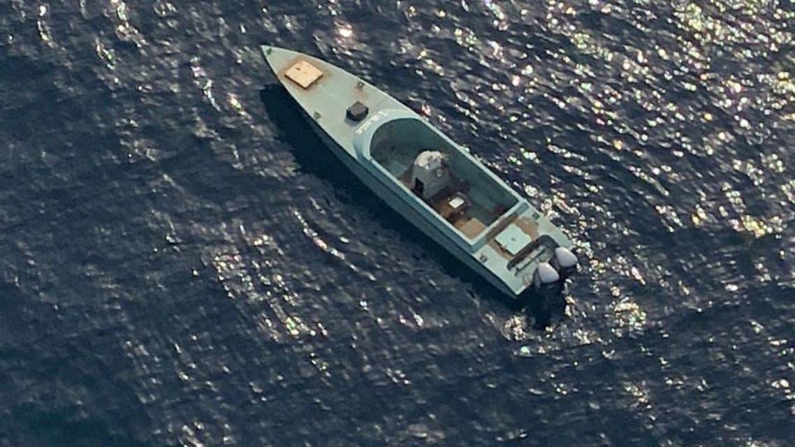 قایق مین گذاری شده