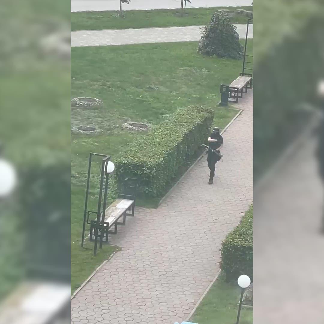 فيديو.. مقتل 6 في حادثة إطلاق نار بجامعة روسية