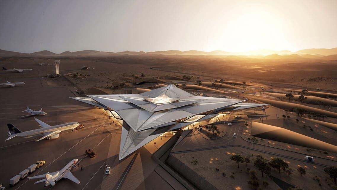 تصميم مطار أمالا