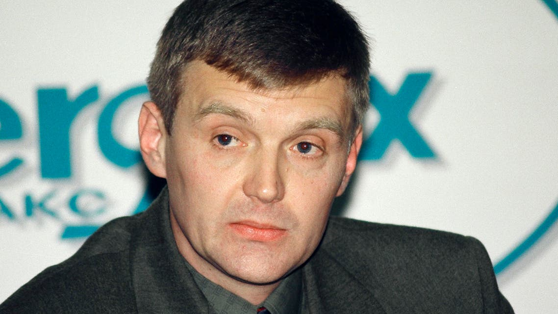 Alexander Litvinenko, then an officer of Russia's state security service FSB, attends a news conference in Moscow in this November 17, 1998 file picture. (File photo: Reuters)