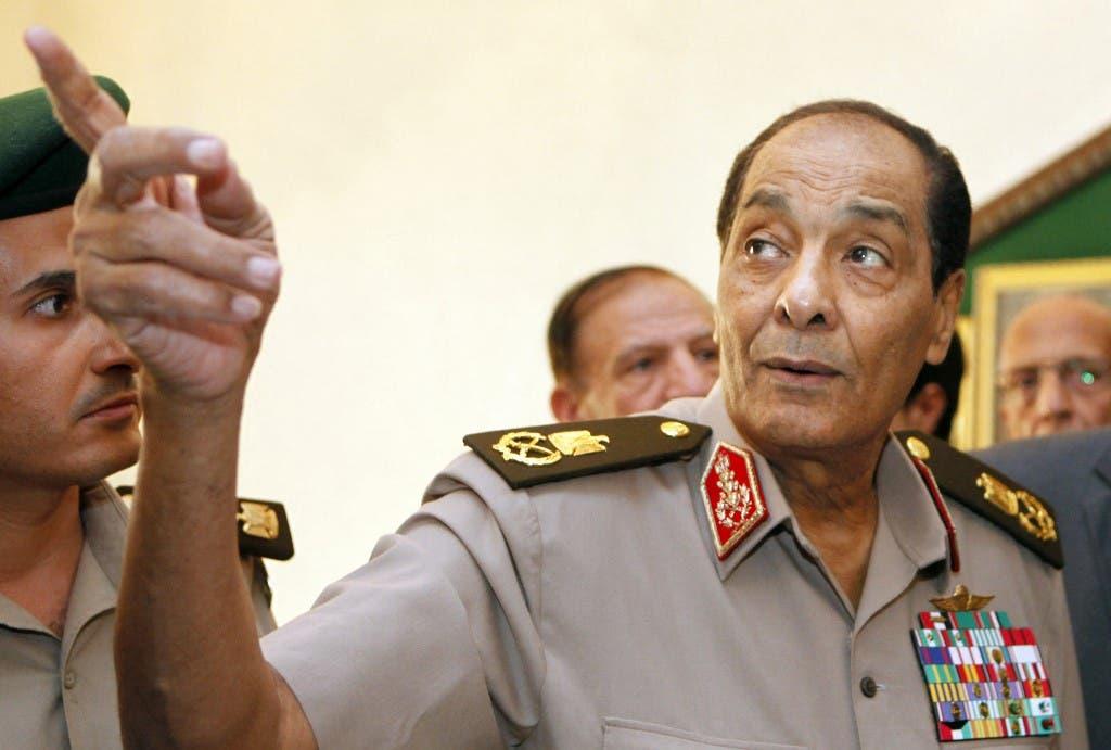محمد حسين طنطاوي (أرشيفية من فرانس برس)