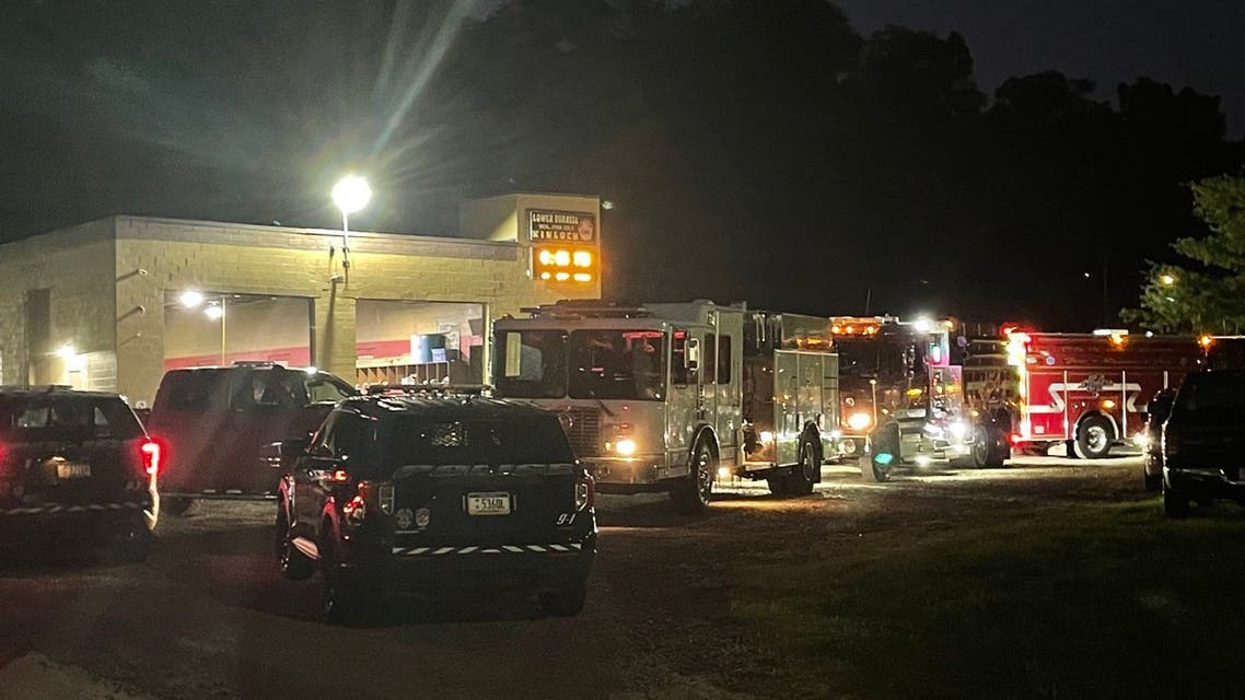Three people taken to hospitals in Pittsburgh after a shooting inside the Kinloch Volunteer Fire Department in Pennsylvania, US after being shot at a baby shower. (Twitter)