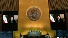 Iran's president, criticizing US, likens sanctions to 'war'