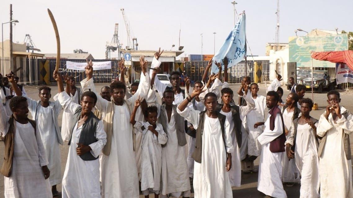 من تظاهرات شرق السودان (فرانس برس9