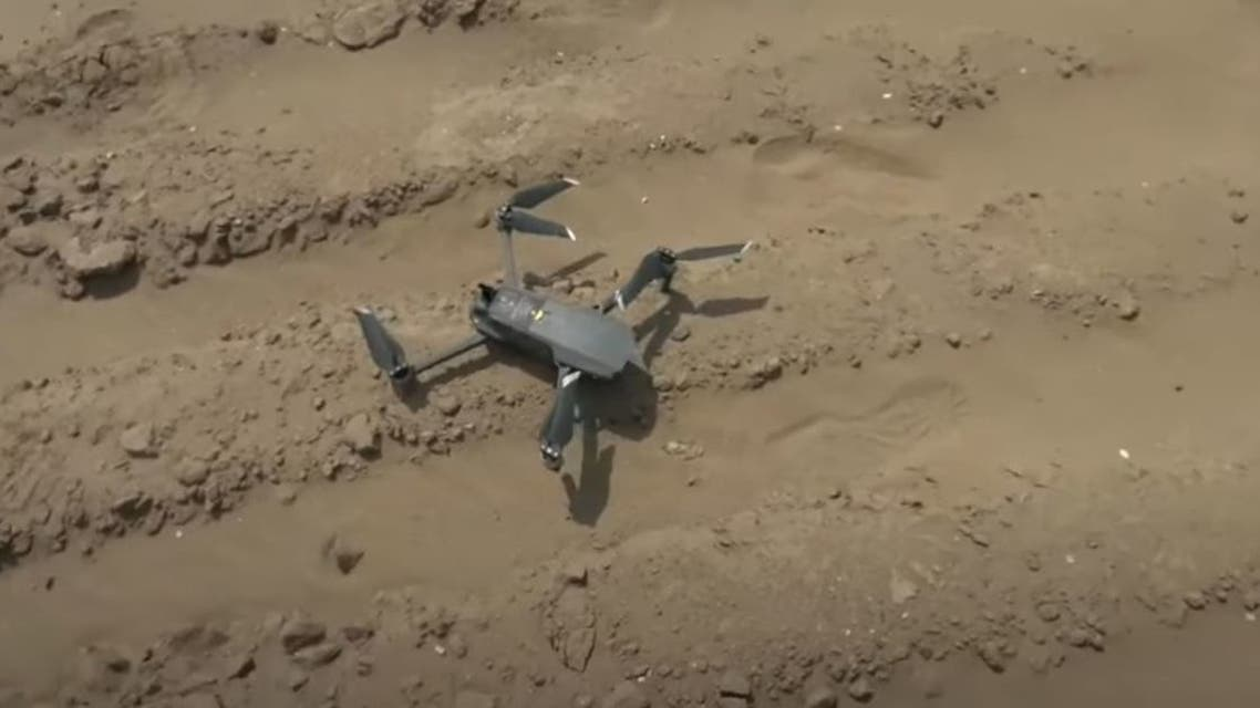 Houthis Drone hit by Yemeni Forces