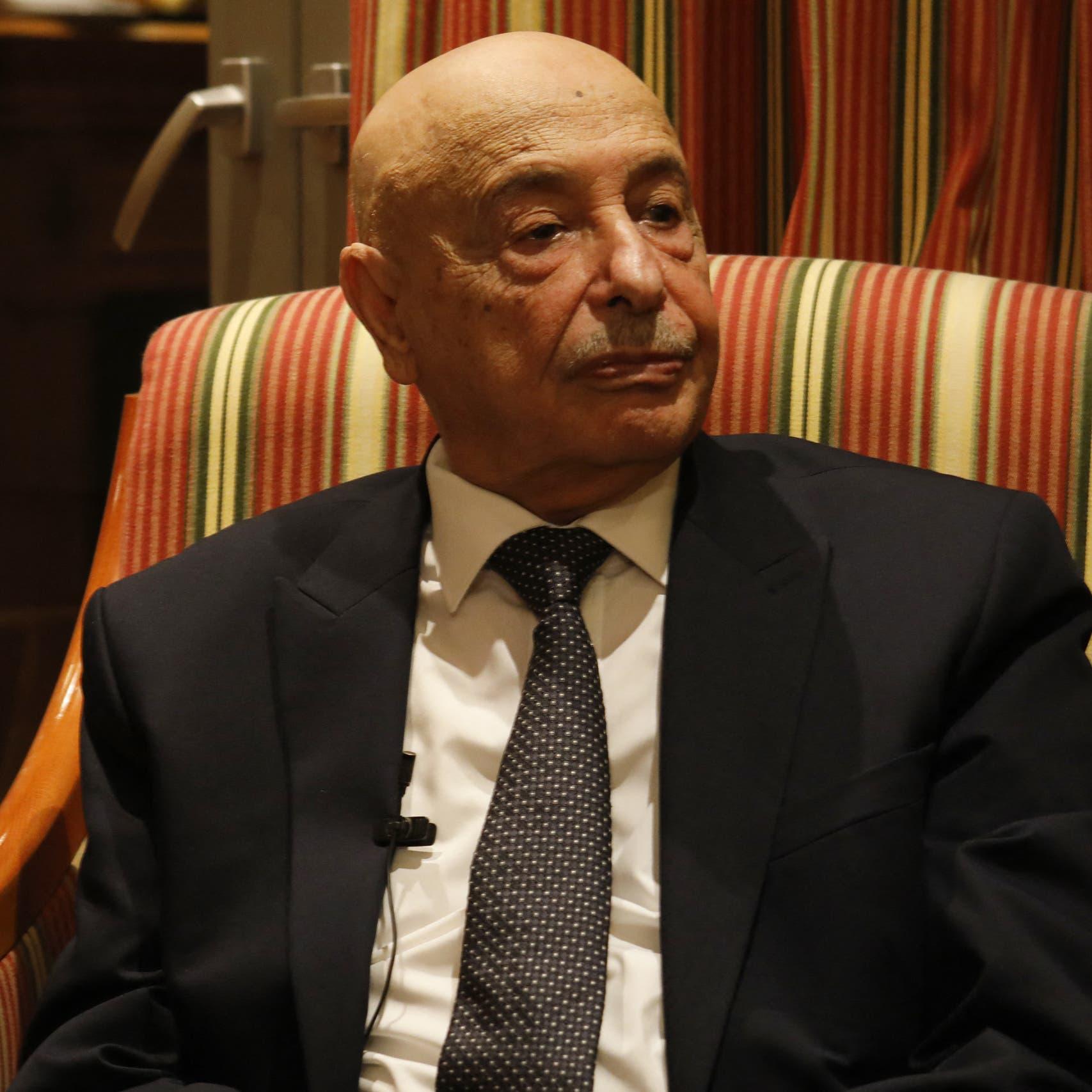 """رئيس برلمان ليبيا: خطاب الدبيبة """"تحريض للمواطنين"""""""