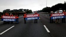 UK climate motorway protesters risk jail under new injunction