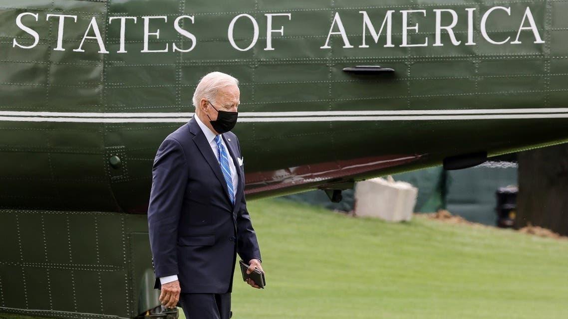 President Joe Biden walks at the White House, Sept. 21, 2021. (Reuters)