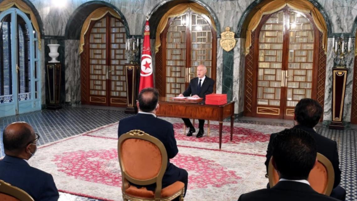 قيس سعيد (صفحة الرئاسة التونسية)
