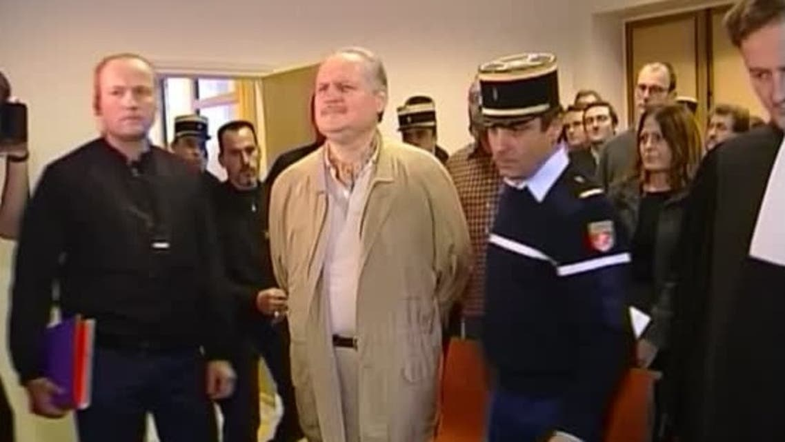 A file photo shows Carlos the Jackal at a French court, March 16, 2018. (Reuters)