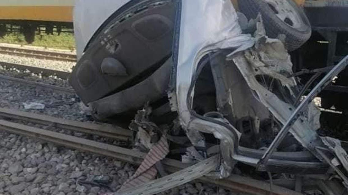 حادث دهس قطار