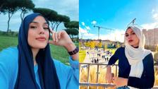 مصری امام مسجد کی بیٹی روم کی سٹی کونسل کی رکنیت کے انتخابات کے لیے پر امید