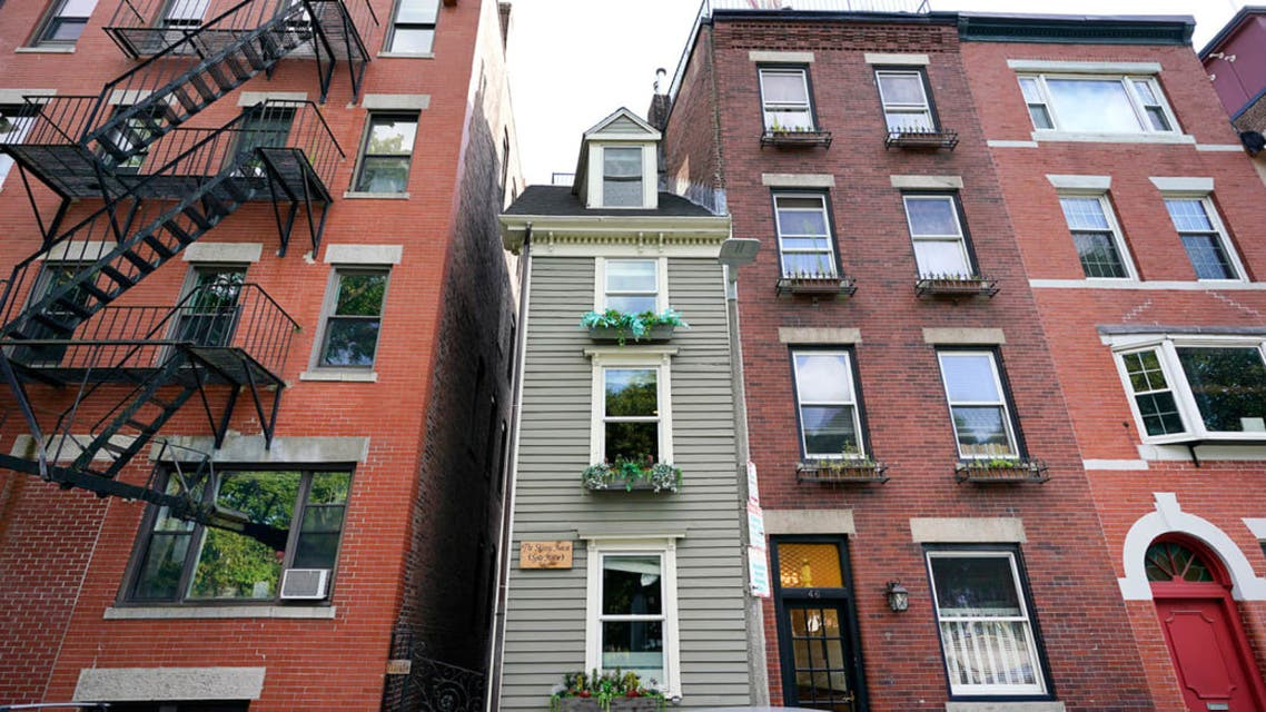 A 10-foot-wide home and renowned tourist attraction in Boston– known as 'The Skinny House' - has sold for a whopping $1.25 million. (Supplied)