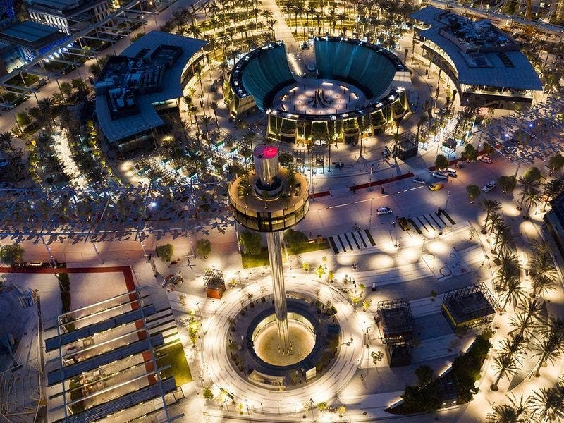 Garden in the Sky at Expo 2020 Dubai. (Twitter)