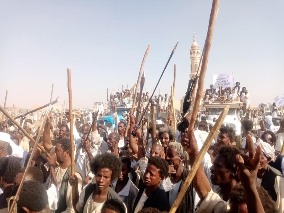 تظاهرات في بورتسودان