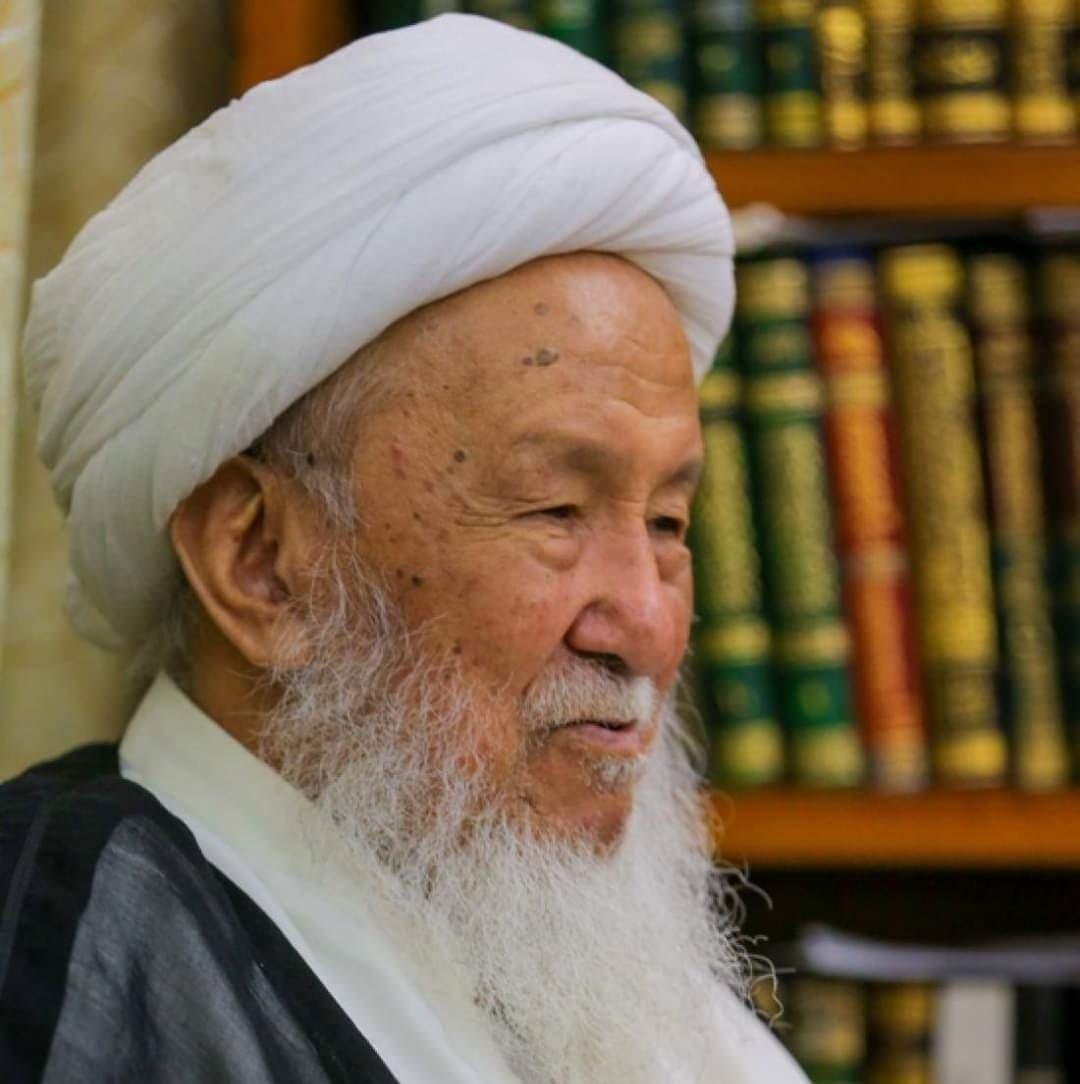 المرجع الديني الشيخ إسحاق الفياض