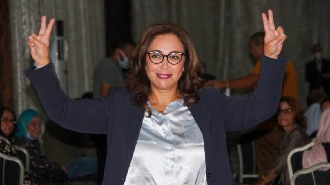 Asmaa Rhlalou, 52, is elected first woman mayor of the capital Rabat. (Twitter@Mediavenir)